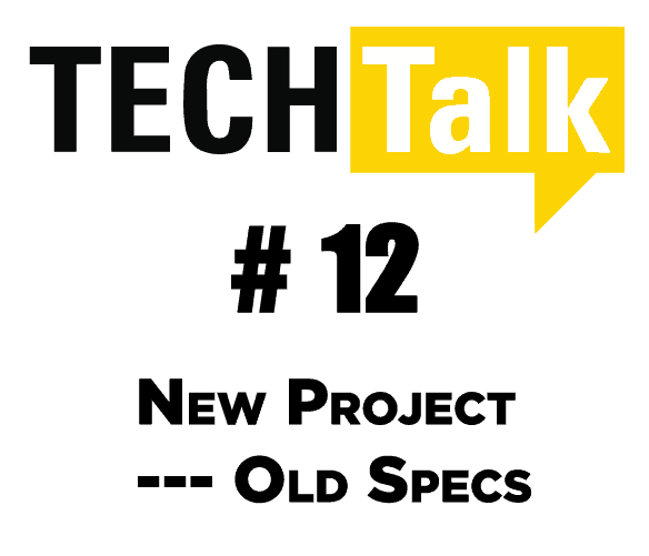 NEW PROJECT — OLD SPEC